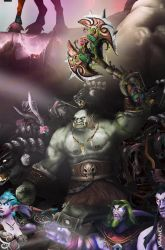 WotA Poster Zoom: Broxigar by Vaanel