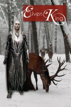 Elvenking and Elk by kayelleallen