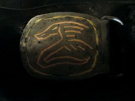 belt Buckle by JoeWere