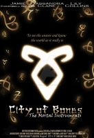 Mortal Instruments: City Of Bones Poster by CreamCup-A-Cake