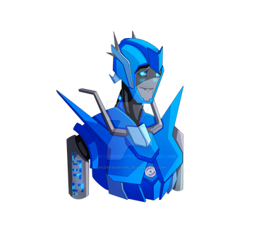 IRON ARTIST  (1/2):  Blue-ray by Madnessgrowl