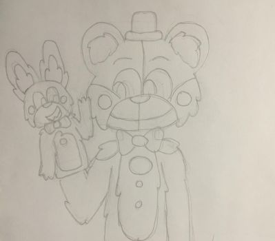 Funtime freddy by GingerChickens