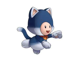 Lucky Cat Toad by KiiroiKat