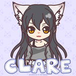 Clare   Gift   Charat   Avatar Icon   Animation by ryushurei