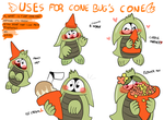 Cone Bug by NatCupcake