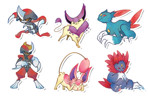 Pokemon Stickers Set 3