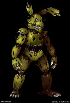 Nightmare Springtrap - Full body by Tomycase