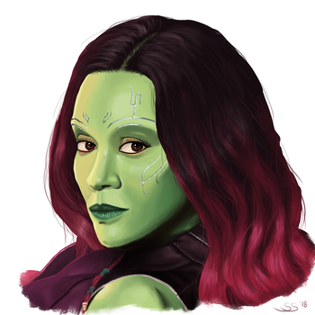 Gamora by FnkMstr74