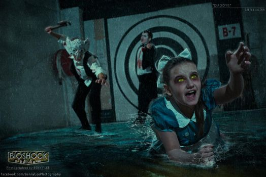 BIOSHOCK - Daddy save me! by Benny-Lee