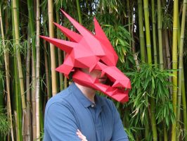 Dragon Mask with Moving Jaw by tetravariations