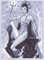 Evil-Lyn by Michael Dooney by SpiderMartini