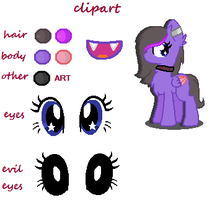 Clipart {new Ref Sheet} by TheClipArtist