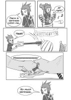 Kingdom Hearts BBS Comic by MadKatt15