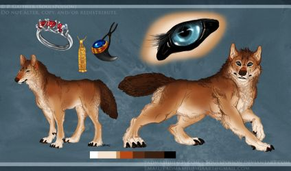 Paladog Reference Sheet Commission by soulspoison