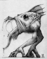 Unknown creature by Morbidmic