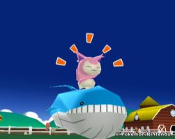 HOT SKITTY ON WAILORD ACTION