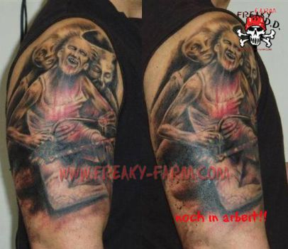 D.D. - saw is family ... by D-D-Tattoo