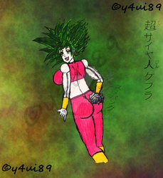 Kefla - Super Saiyan SFW#1 - Fully clothed by y4ui89
