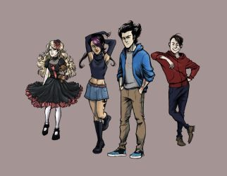 [DS] Modern Life: Line-Up by rockysprings