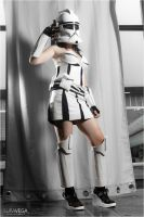 Clone Trooper (female version) - Star Wars by Hyiakuza