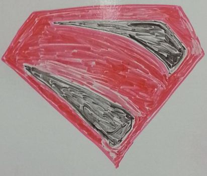 WB Shenanigans -06) Superman (Kingdom Come) Emblem by CyberPFalcon