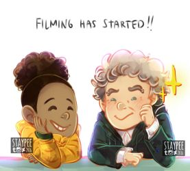 DW series 10 has started filming!! by staypee