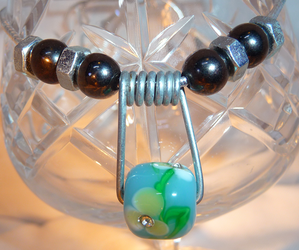 Urban Glass Necklace by Entorien
