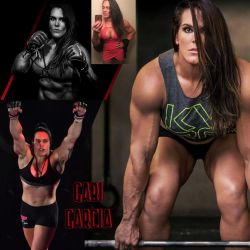 GORGEOUS GRAPPLER Gabi Garcia by zenx007
