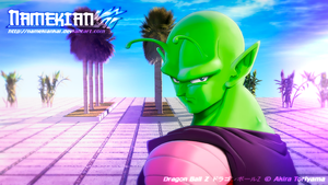 Piccolo at the Look Out by NamekianKAI