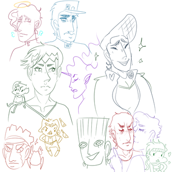 i am gracing the world by not tagging this as jjba by Roxie-the-Charizard
