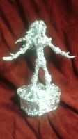 Terra's Memorial - Aluminum Foil Sculpture by TheFoilGuy