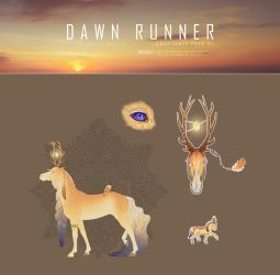 Dawn Runner - Adoptable Pack #1 - SOLD by Cadavroux