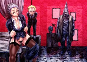 dorohedoro Noi,Shin,Duston by cva1046