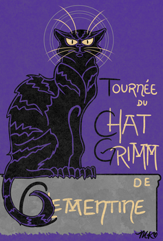 Le Chat Grimm by franticprofessional
