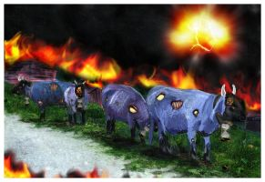 cataclysmic cows by pungen