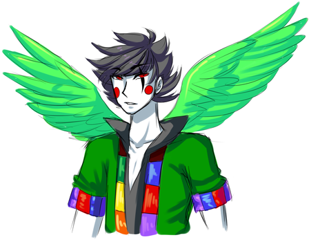 upd8 art: super alpha yaoi lord by GalacticTitty