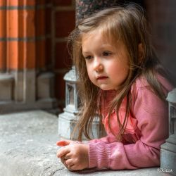 Lithuanian girl - with her thoughts by Rikitza