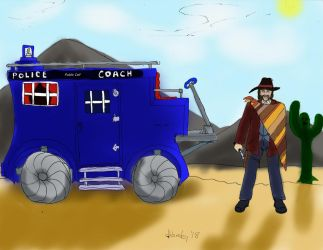 The 4th Doctor of the Wild Wild West by dhbraley