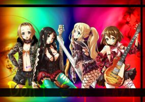 K-On Wallpaper VERSION-G by Rose-Whip-Murder