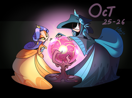 CDC - Oct 25-26: Dangerously Curious Princesses by 7-Days-Luck