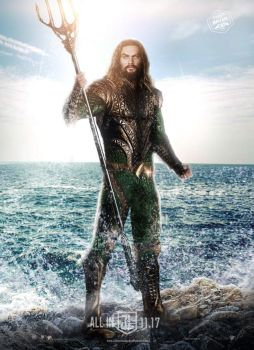 Justice League - Aquaman Poster by Bryanzap