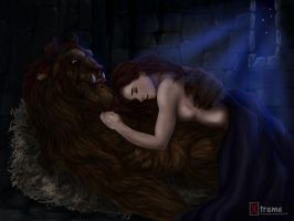 Beauty and the Beast by Diego32Tiger