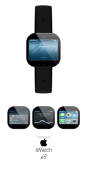 Apple iWatch Concept by iBrushART