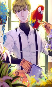 [OC] Mr.Guide and His Parrot by EnduuA