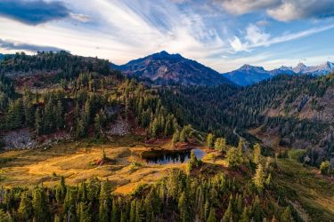 Artists Point by PNWDronetography