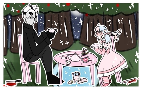 Tea party! by inkedspace