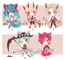 ADOPTS - umbras 5-9 [CLOSED] by cmmn