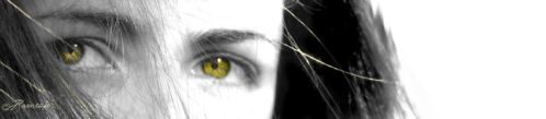 Girl with the golden eyes by CristianaApostol