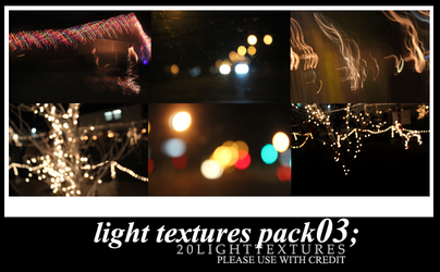 039.Light Bokeh Texture Batch 03 by MunRikki
