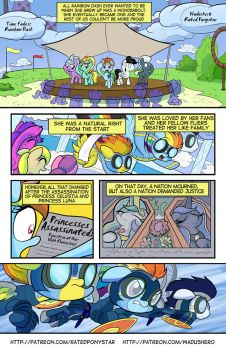 Time Fades: Rainbow Dash page 1 by Wadusher0